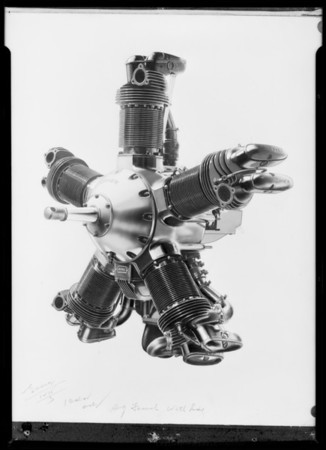 Kinner motor, Southern California, 1931