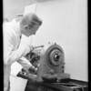 Axelson threader, Southern California, 1931