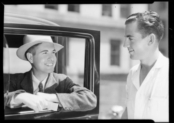 Mr. Gaynor, Southern California, 1933