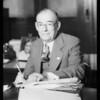 Portrait of Mr. J.J. Buell, Southern California, 1933