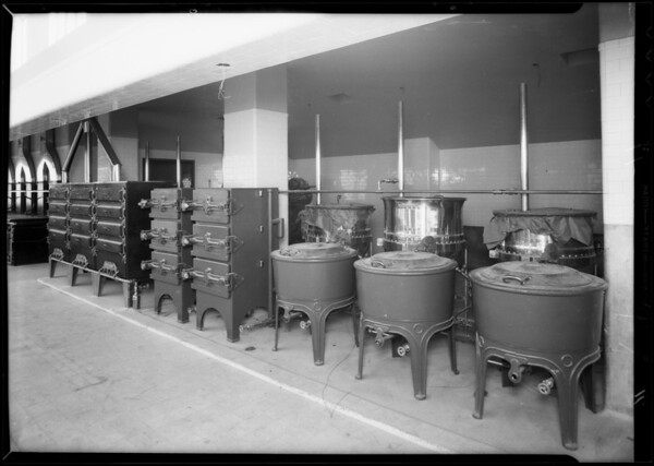 County Hospital installations, Los Angeles, CA, 1932