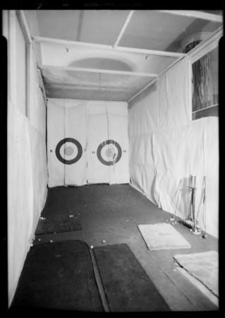 Golf cage, May Co., Gabler vs. May Co., Southern California, 1933