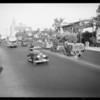 Wilshire Boulevard traffic scenes, Los Angeles, CA, 1934