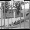 County Hospital (fence), Philip Friedman Inc., Los Angeles, CA, 1931