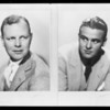 Portraits of members of staff, Southern California, 1932