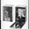 Small switch boxes, Diamond Electric, Southern California, 1932