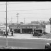 Views of garage, Southern California, 1932