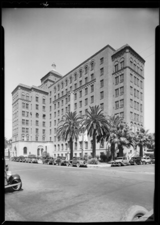 Buildings, companies supplied with Western dairy products, Southern California, 1932