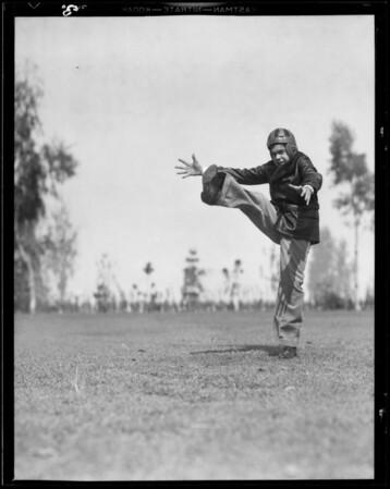 Boys clothes, May Company, Southern California, 1932
