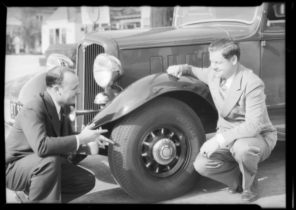 Al Pearce and General Tire, Southern California, 1933