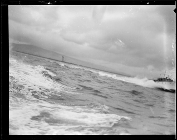 Powerboat race to San Francisco, Southern California, 1931