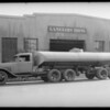 Ford oil tank attachment, Southern California, 1932