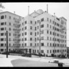 Exterior of Taggart apartments, 2430 Ocean View Avenue, Los Angeles, CA, 1932