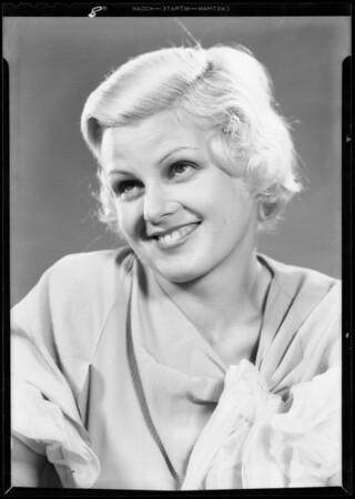Portrait of Dorothy DeCou, Southern California, 1933