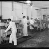 Views in laboratory and butter department, Vernon, CA, 1931