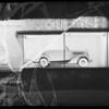Plymouth tire board, Southern California, 1935