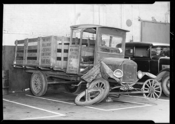 Ford ton truck, Southern California, 1932