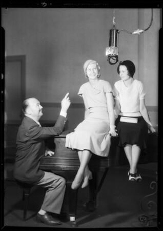Paul Whiteman audition, KFI, Southern California, 1932
