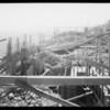 Progress of planetarium, Southern California, 1933