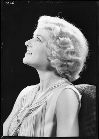 Jean Anderson, Southern California, 1933
