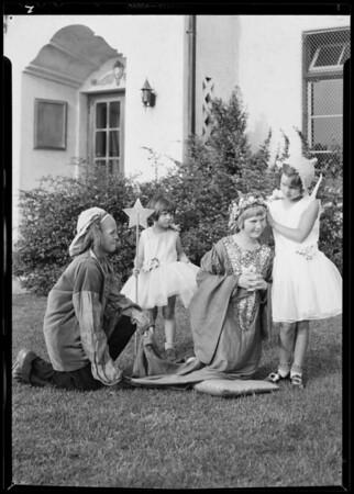 Scenes for play, Harvard Playground, Los Angeles, CA, 1931