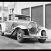 Cadillac coupe, owner, Kornblum, American Dye works, file #Met. cc2al 4333, Southern California, 1933