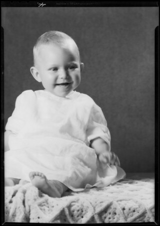 Eleanor at 6 months, Southern California, 1931