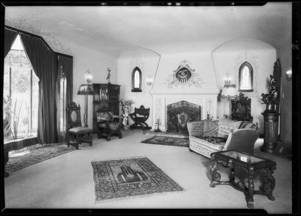 Castle Carcassonne, 2483 Glendower Place, Los Angeles, CA, 1931