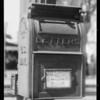 U.S. mail box, Southern California, 1931