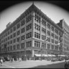 Exterior of store during 50th anniversary sale, May Co., 801 South Broadway, Los Angeles, CA, 1931