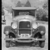 Studebaker, Mrs. Spacher, owner, Southern California, 1932