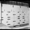 Installations at County Hospital, Packer Ice Machine Co, Los Angeles, CA, 1932