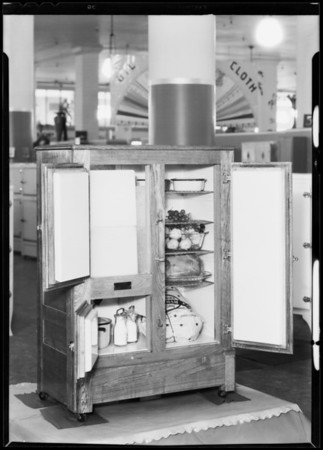Ice box, Southern California, 1931