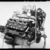 Ford V8 motor, Southern California, 1935