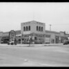 Drive in market building, West 48th Street and Crenshaw Boulevard, Los Angeles, CA, 1931