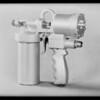 Spray guns, Southern California, 1931