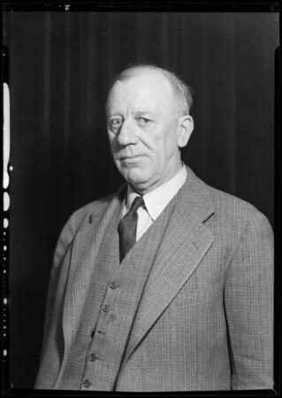 Portraits of himself, Joe Hartman, Southern California, 1931