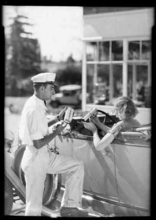 Fly spray gun etc., Union Oil Co., Southern California, 1931