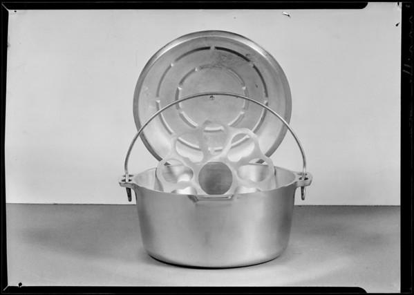 Aluminum ware, Southern California, 1931