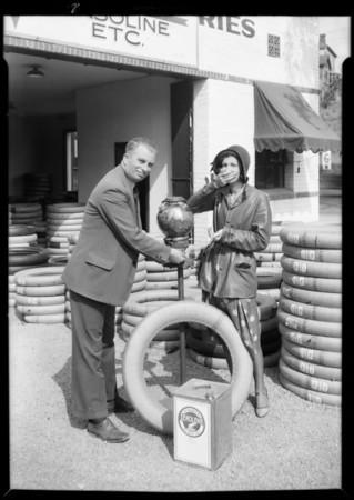 Publicity shots at Foy's, 211 North Figueroa Street, Los Angeles, CA, 1931