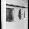 Installation, County Hospital, linen chutes, Los Angeles, CA, 1932