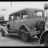 Studebaker sedan, Taylor vs. Williams, Southern California, 1932