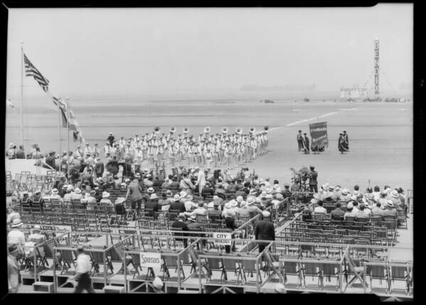 Bands at National Air Races, Southern California, 1933