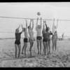 Sports on the sand, Bel-Air Bay Club, Los Angeles, CA 1932