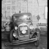 1929 Ford coupe, Lou Kerner, owner, Leo Schrimps, assured, Southern California, 1932