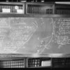 Blackboard, Robbinson vs. Graf, Southern California, 1931