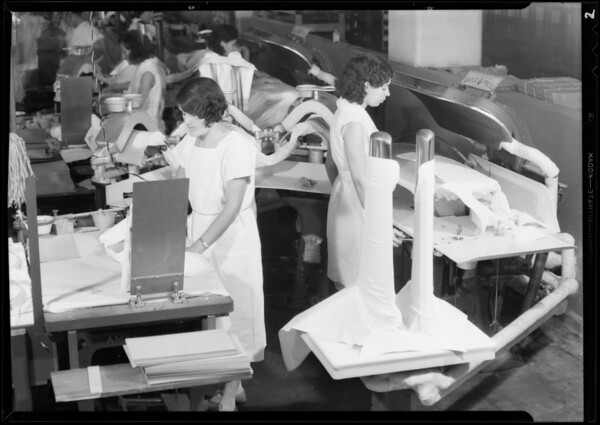 Interiors, Diamond Laundry, Southern California, 1931