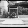 Car in driveway, 1862 West 24th Street, Los Angeles, California, 1932