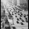 Traffic on Wilshire Boulevard west of Western Avenue, Los Angeles, CA, 1932