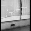 Bullock's store where woman fell, Southern California, 1931
